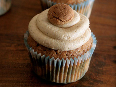 speculaas caramel cupcakes